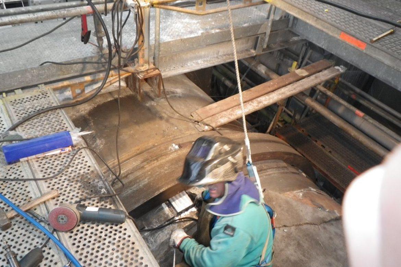 Remontage des cales, contrôle des jeux sous bandage et calage en fonction des mesures effectuées
