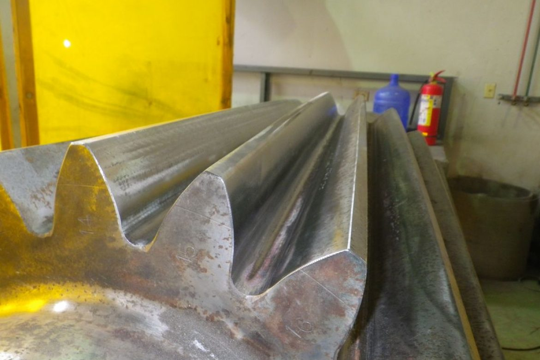 Après réparation complète, le pignon est comparable à un neuf